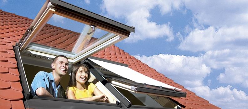 ROOF WINDOW(지붕창) – 손이 닿는 곳에 설치